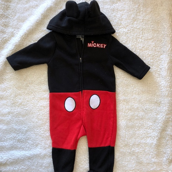 Disney Other - 3 Months Mickey Jumpsuit